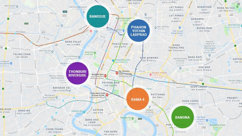 Bangkok Peripheral Property Markets